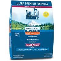 Phillips Feed & Pet Supply Natural Balance Ultra Premium Small Breed Dog Food