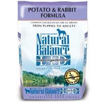 Natural Balance Limited Ingredient Diets Potato & Rabbit Formula Dry Dog Food