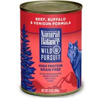 Phillips Feed & Pet Supply Natural Balance Wild Pursuit Beef Can Dog Food