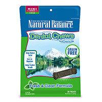 Natural Balance Grain Free Fresh and Clean Mini Dog Dental Chews
