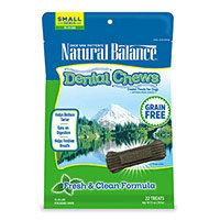 Natural Balance Grain Free Fresh and Clean Small Dog Dental Chews
