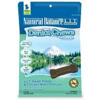 Phillips Feed & Pet Supply Natural Balance LIT Dog Dental Chews Chicken SM/MD