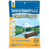 Phillips Feed & Pet Supply Natural Balance LIT Dog Dental Chews Duck SM/MD