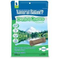 Phillips Feed & Pet Supply Natural Balance Vegetarian Dog Dental Chews SM/MD