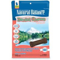 Phillips Feed & Pet Supply Natural Balance Dog Dental Chews SweetPotato SM/MD