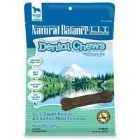 Phillips Feed & Pet Supply Natural Balance LIT Dog Dental Chews Chicken MD/LG