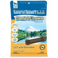 Phillips Feed & Pet Supply Natural Balance LIT Dog Dental Chews Duck MD/LG