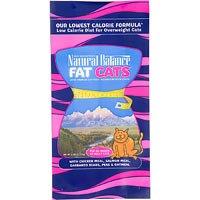 Natural Balance Fat Cats Adult Cat Food, 6 lbs.