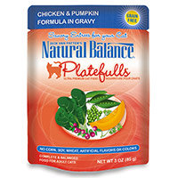 Natural Balance Platefulls Ultra Premium Cat Food Chicken & Pumpkin 3 oz