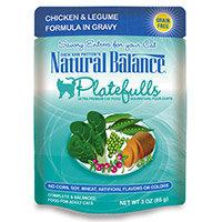 Natural Balance Pet Food Platefulls Ultra Premium Cat Food In Gravy Chicken & Legume 3 oz