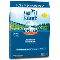 Tural Dog Natural Balance Ultra Premium Dry Dog Food 30lb