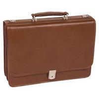 Mcklein McKlein USA V Series Lexington Leather Double Compartment Briefcase