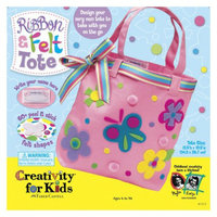 Faber-Castell Creativity for Kids Ribbon and Felt Tote