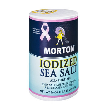 Morton Iodized Sea Salt