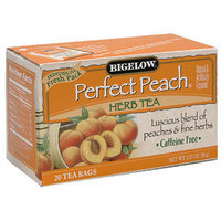 Bigelow Perfect Peach Herb Tea