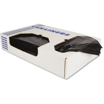 Heritage Bag Heritage Linear Low-density 0.75mil Can Liners - 30 gal - 30 X 36 - 0.65 Mil [17 Micron] Thickness - Low Density - 250/carton - Black (h6036hk)