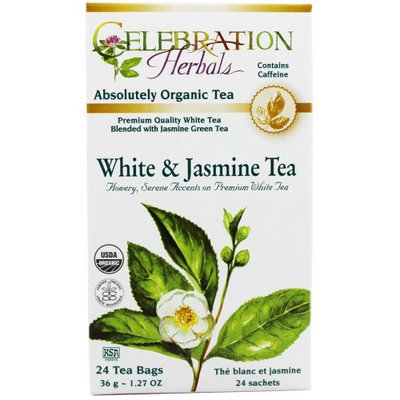 Celebration Herbals Organic White and Jasmine Tea 24 Tea Bags