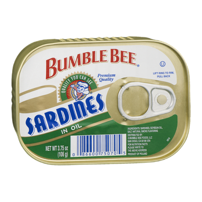 Bumble Bee Sardines in Oil