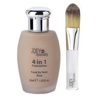 Joey NY Specialty 4 In 1 Foundation For Normal to Oily Skin, Medium Dark, 1 fl.-Ounce Bottle