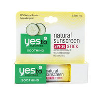 Yes to Cucumbers Natural Sunscreen Stick SPF 30