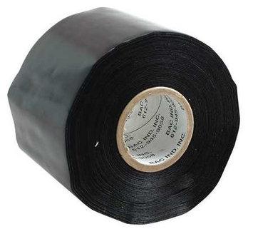 BAC INDUSTRIES TBL108 Tarp Tape, W 3 In, L 36 Yd, Black