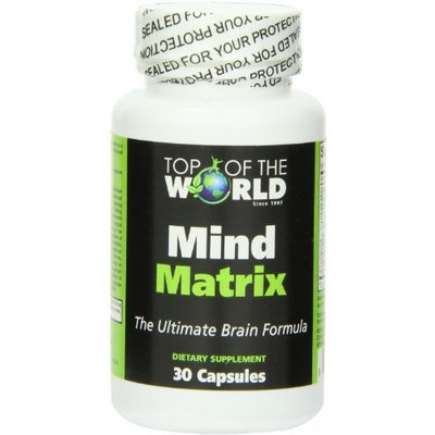 Ranisa Naturals Top of the World Naturals Mind Matrix, 30 Capsules