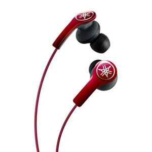 Yamaha EPH-M200RE High-Performance Earphones with Remote and Mic - Red