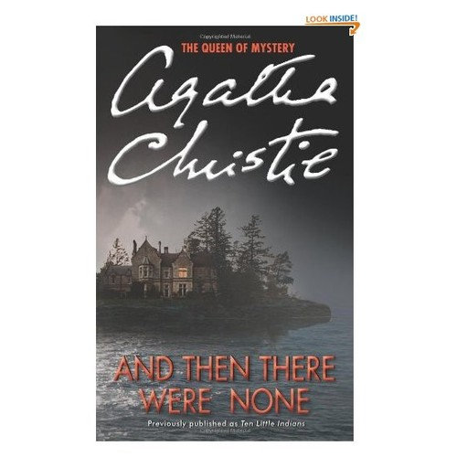 a report on the novel an then there were none by agatha christie