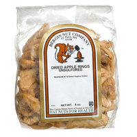 Bergin Nut Company Apple Rings Dried Unsulfered, 6-Ounce Bags (Pack of 4)