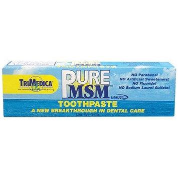 MSM Toothpaste (5%) Trimedica 3 oz Paste