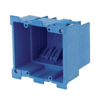 Thomas & Betts BH234R Two Gang Super Blue Old Work Box-DOUBLE GANG BOX