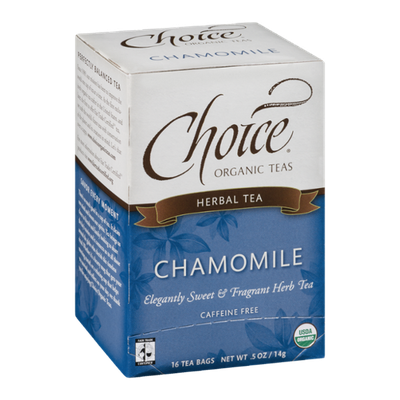 Choice Organic Teas Chamomile - 16 CT