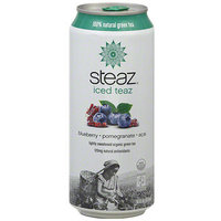 Steaz Organic Pomegranate Acai Green Tea With Blueberry