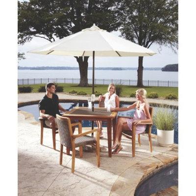 Panama Jack Leeward Island 5-Piece Teak/Wicker Patio Dining Furniture