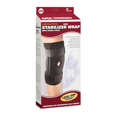 OTC Professional Orthopaedic Orthotex Knee Support Wrap With Spiral Stays