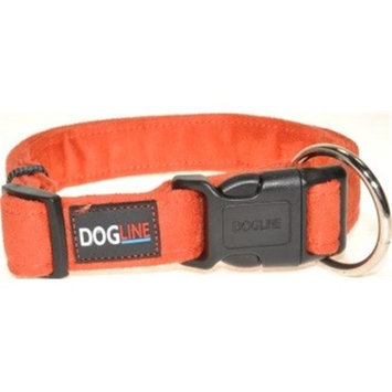 Dogline Comfort Microfiber Soft Padded Pet Puppy Dog Collar Nylon Reinforecement (4 sizes & 8 colors available)