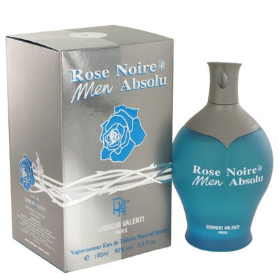 Armani Rose Noire Absolu By Giorgio Valenti Eau De Toilette Spray 3.4 Oz