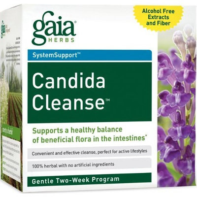 Gaia Herbs, SystemSupport, Candida Cleanse