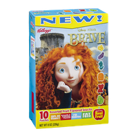 Kellogg's Disney Pixar Brave Assorted Fruit Flavored Snacks - 10 CT