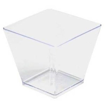 Fineline Settings 6411-CL Clear 2 Oz. Tiny Cube