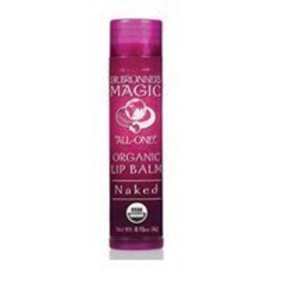 Dr. Bronner's Organic Lip Balm - Naked - 0.15 oz