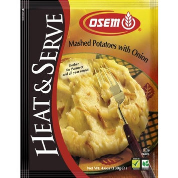 Osem Mashed Potatoes With Fried Onions (Kosher for Passover), 4.7-Ounce Bags (Pack of 12)