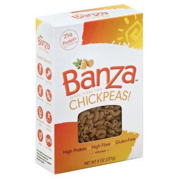 Banza 8 oz. Pasta Chickpea Elbows, Case Of 6