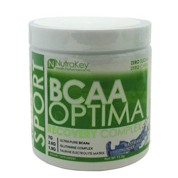Nutrakey BCAA Optima Blue Raspberry Thunder - 5 servings