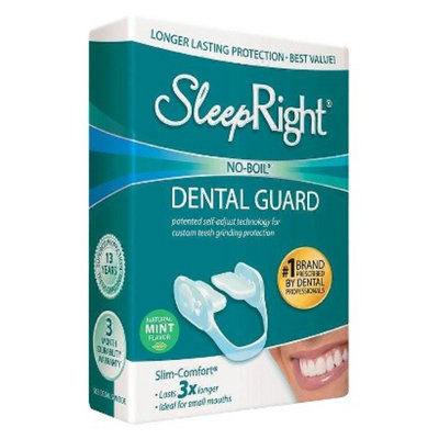 SleepRight Adjustable Low-Profile Night Guard - Mint