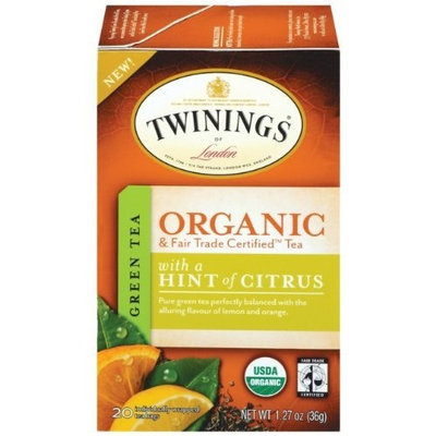 Twinings® Green With Hint Of Citrus Organic
