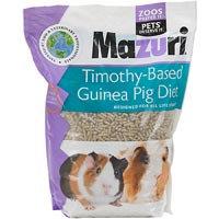 Mazuri Timothy-Based Guinea Pig Food, 5 lbs. ()