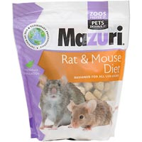 Mazuri Rat & Mouse Food, 5 lbs. ()