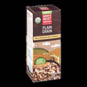 Mom's Best Naturals Organic Multigrain Hot Cereal Plain Grain - 5 CT