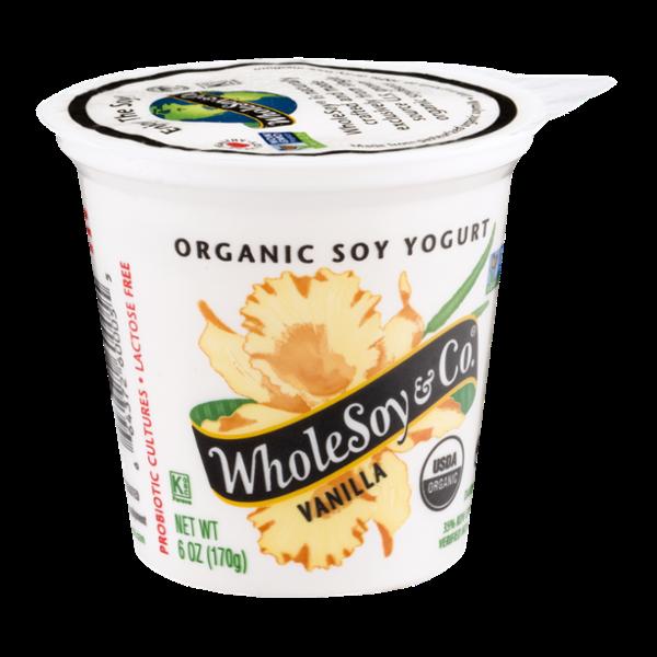WholeSoy & Co. Organic Soy Yogurt Vanilla